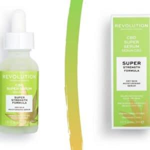 Testirala sam Revolution Skincare CBD Super Serum. Moja suha koža ga obožava