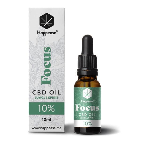 Happease® Focus 10% CBD ulje Jungle Spirit
